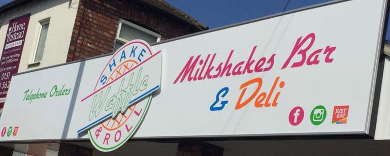 Vehicle graphics and retail and commercial signage by Kirkby Signs Liverpool